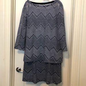 Lafayette 148 New York Linen Blend Tunic/Skirt